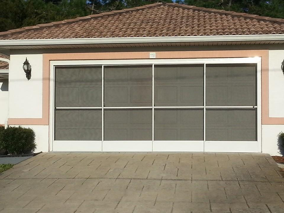 garage screen doors